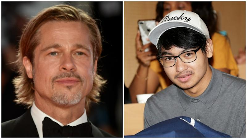 Maddox Jolie-Pitt has opened up about his relationship with his dad, Brad Pitt. Photo: Getty Images