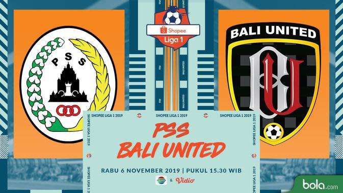 Tanpa Gol di Maguwoharjo, PSS dan Bali United Berbagi Poin