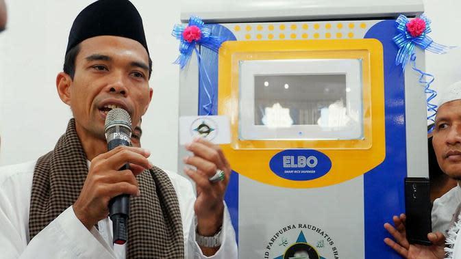 Ustaz Abdul Somad (UAS) (M Syukur/ Liputan6.com)