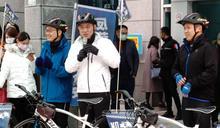 公投連署僅達標10分之1 羅智強要騎自行車縱台衝連署