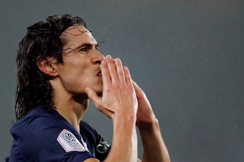 Rashford backs new arrival Cavani to shine at Man Utd