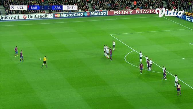 VIDEO: Flashback Liga Champions, Gol Nicklas Bendtner Dibalas 4 Gol Lionel Messi untuk Barcelona