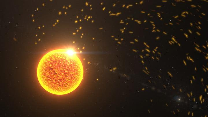 The Sun sends out a constant stream of particles and energy, which drives a complex space weather system near Earth