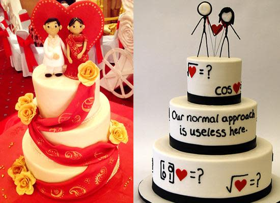 The Western Trend Of Newlyweds Celebrating Their Marriage By Cutting A Wedding Cake Has Now Become Quite Popular In India As Well