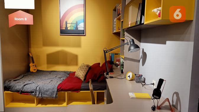 Tempat tidur tatami. (Liputan6.com/Dinny Mutiah)