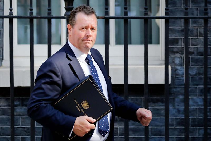 Mark Spencer: the Government's new chief whip: AFP/Getty Images