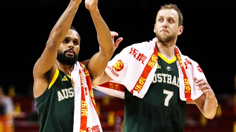 Patty Mills and Joe Ingles, pictured, were the cornerstones of Australia's win over France.