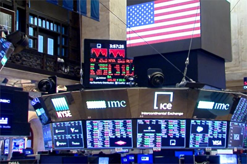 快新聞/美國經濟逐漸復甦 美股3大指數收盤均小漲