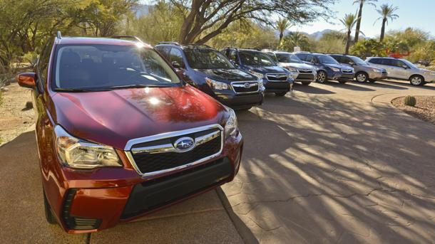 2014 Subaru Forester, all over the map: Motoramic Drives