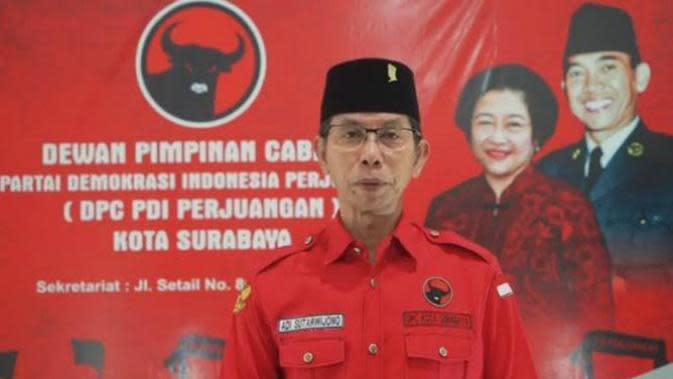 Ketua DPC PDIP Surabaya, Adi Sutarwijono (Foto: Liputan6.com/Dian Kurniawan)