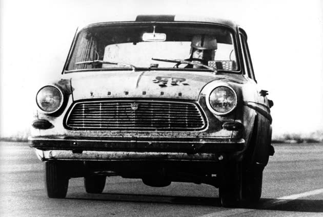 November 26: The Ford Taunus reaches 221,473 miles on this date in 1963