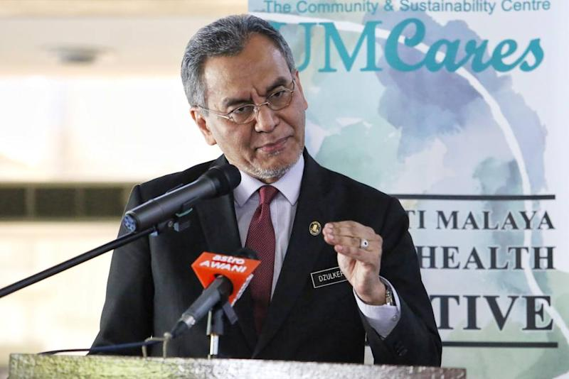 Health Minister Datuk Seri Dzulkefly Ahmad says Malaysia has only five people in its hospitals who are being treated for the Covid-19 out of a total of 22 cases.