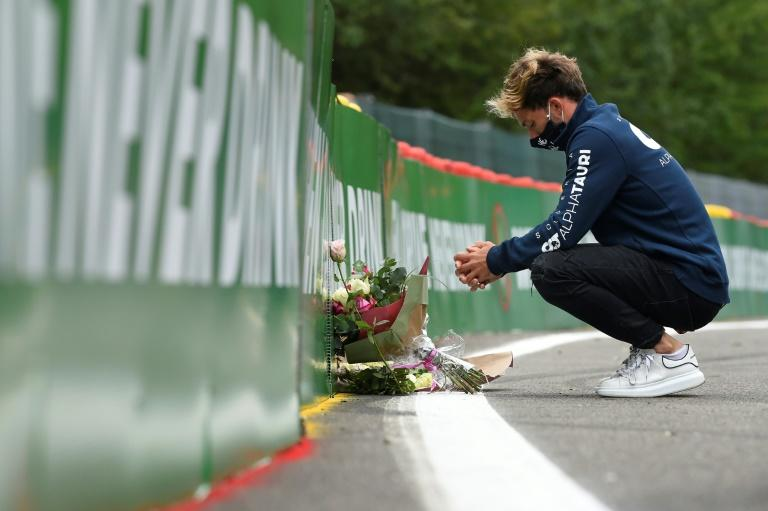 Belgian GP preceded by minute's silence and anti-racism gesture
