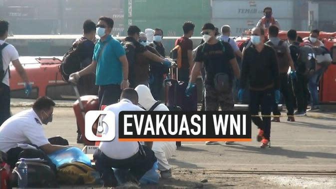 VIDEO: 343 WNI Dievakuasi dari Kapal Pesiar MV Rotterdam