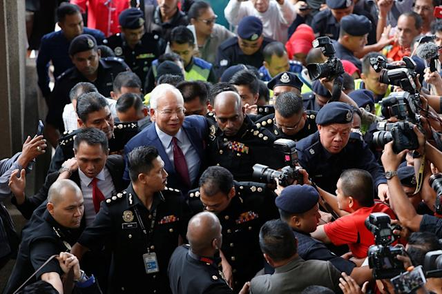 The US newspaper also reminded Malaysia that the criminal action against Najib was but the first step of many on the country's road to recovery after years of allegedly kleptocratic rule. — Reuters pic