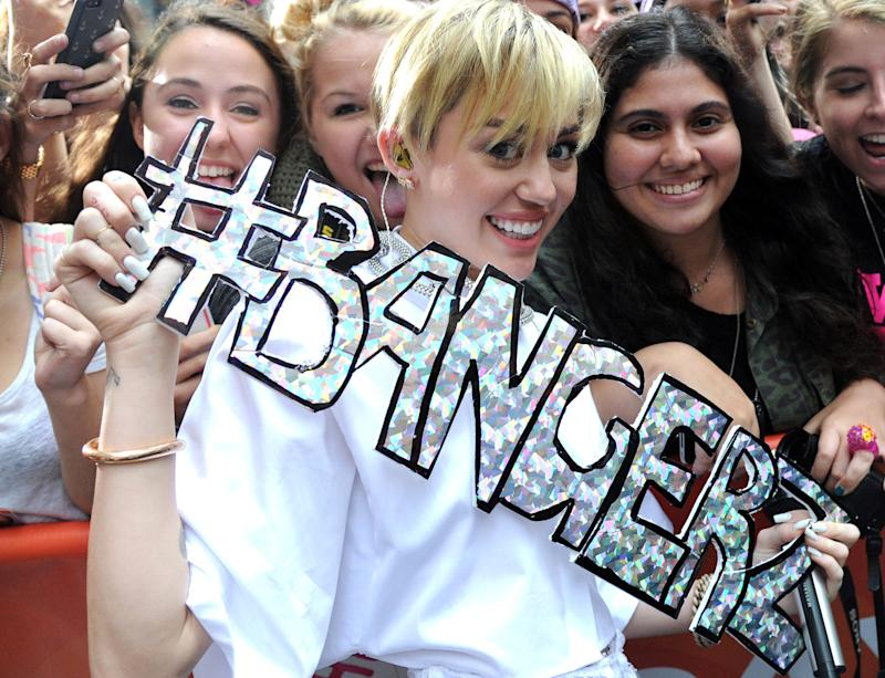 Miley Cyrus: Why My Clothes Will Come Back on When I'm 40