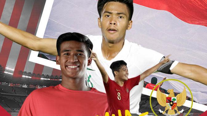 Ilustrasi Timnas Indonesia U-19 (Bola.com/Adreanus Titus)