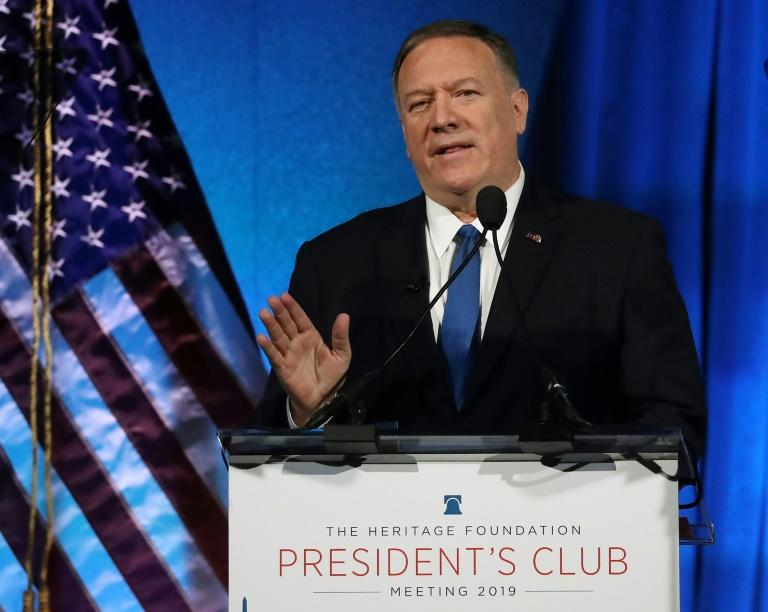 Pompeo asks US think tanks to disclose foreign funding