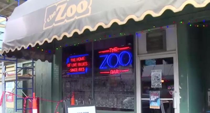 Zoo Bar in Nebraska is pictured from outside.