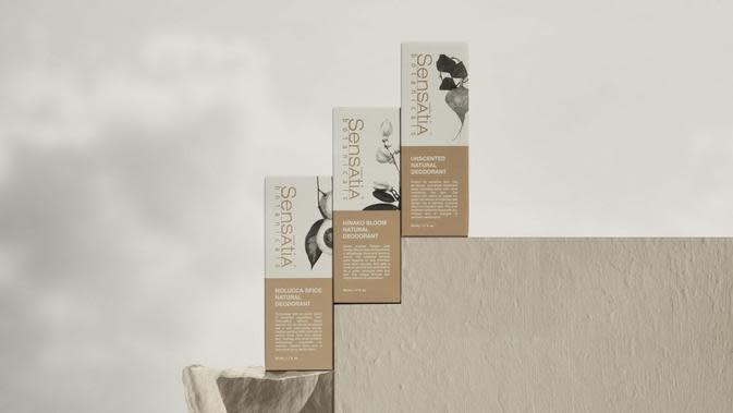 Sensatia Botanicals Merilis koleksi deodoran terbaru yang aman dan baik untuk kulit sensitif.
