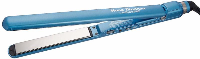 BaByliss straightening irons use Nano Titanium technology to style fast and with minimal damage. (Photo: Amazon)