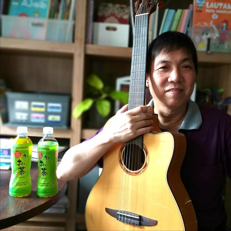 gitaris akustik jubing kristianto