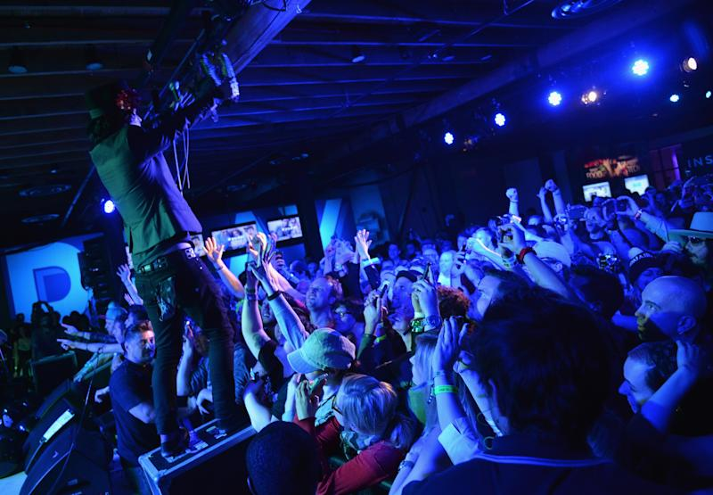 What Does the Foxboro Say? Green Day Side-Project Rocks Yahoo's SXSW Showcase
