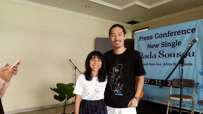 Hiroaki Kato dan Arina Mocca