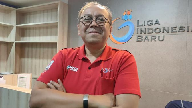 Direktur PT Liga Indonesia Baru, Akhmad Hadian Lukita. (Bola.net/Fitri Apriani)