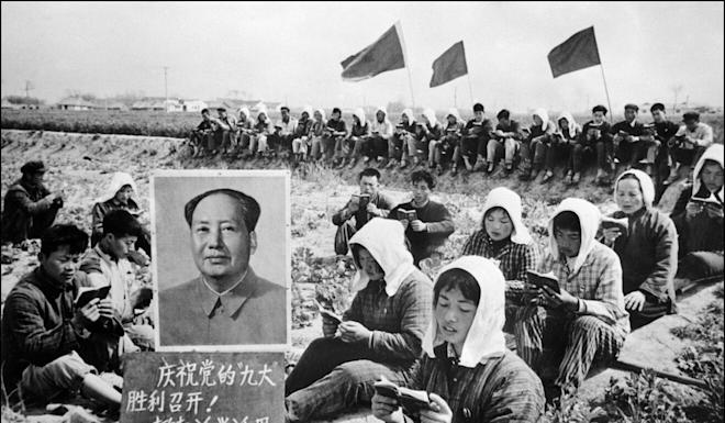 in 1981 the Communist Party adopted a resolution that said Mao Zedong had made mistakes. Photo: AFP