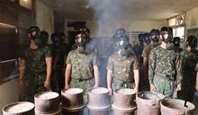 金防部核生化訓練 強化戰場應變防護能力