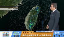 一分鐘報天氣 /週四(06/03日) 週四天氣穩定降雨少 週五水氣再增週末留意鋒面雨勢