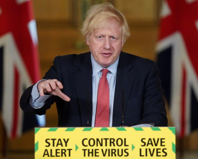 British PM Johnson is in charge of coronavirus response, junior minister says