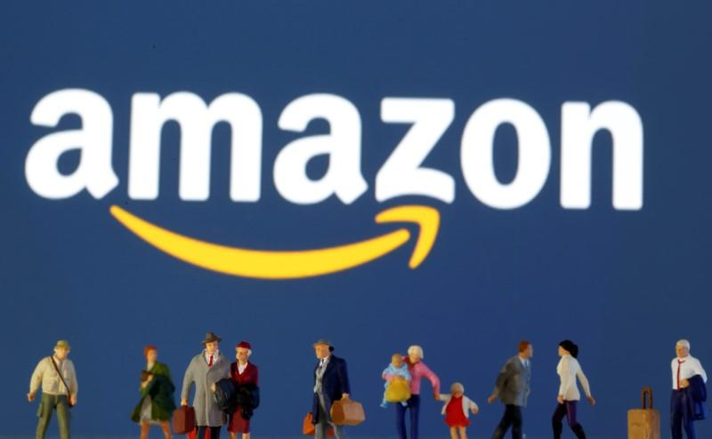Amazon halts grocery orders to restock amid surging demand