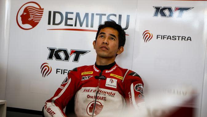 Pembalap Astra Honda Indonesia, Gerry Salim bakal tampil di kelas Moto2 balap motor FIM CEV 2019 (Astra Honda Motor)