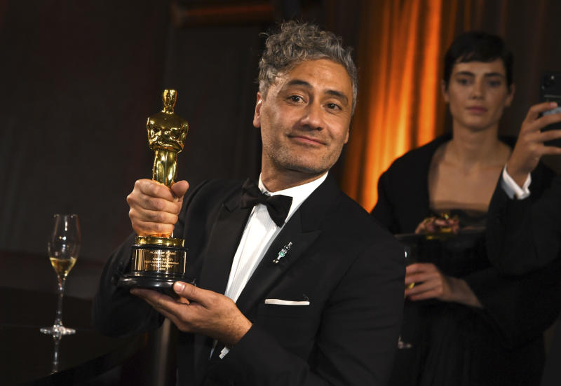 Taika Waititi attends the Governors Ball after the Oscars on Sunday, Feb. 9, 2020. (Photo by Richard Shotwell/Invision/AP)