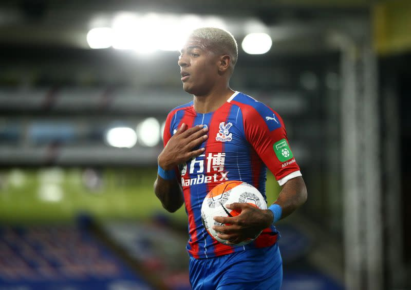 Palace defender Van Aanholt subjected to online racial abuse