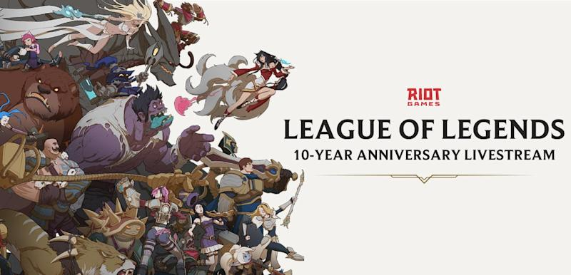 League of Legends 10-Year Anniversary Livestream