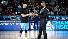 PLG》臺北富邦勇士張宗憲 獲頒聯盟史上首座單月最有價值球員獎盃