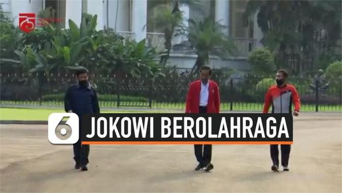VIDEO: Jokowi Ajak Masyarakat Berolahraga Meningkatkan Imun Tubuh