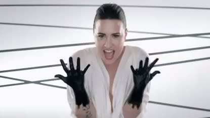 Demi Lovato Is Caught Black-Handed In New Video
