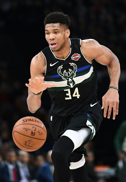 Milwaukee Bucks forward Giannis Antetokounmpo scored 30 points and grabbed 19 rebounds in a 129-108 NBA victory over visiting Phoenix on Sunday