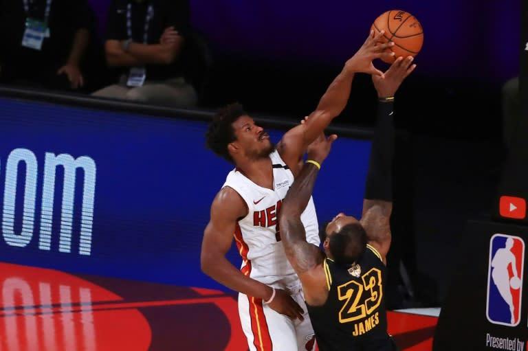 Butler's Herculean NBA effort lifts Heat over Lakers