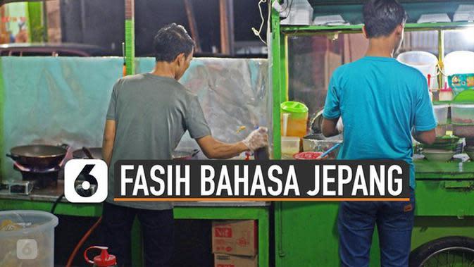 VIDEO: Viral Tukang Bubur Bisa Bahasa Jepang