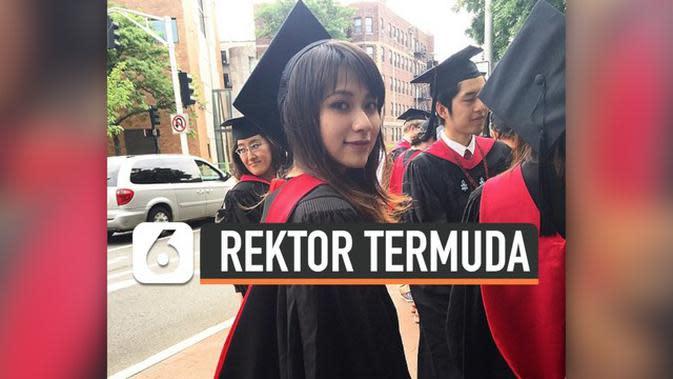 VIDEO: Mendadak Viral, Risa Santoso Rektor Termuda di Indonesia