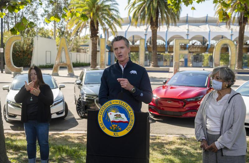 US California Gas Vehicles