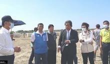 南市議員勘七股太陽能發電廠違法施工 要求市府展現公權力