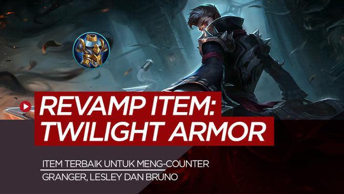 MOTION GRAFIS: Twilight Armor, Item Mobile Legends untuk Counter Critical Granger, Lesley dan Bruno