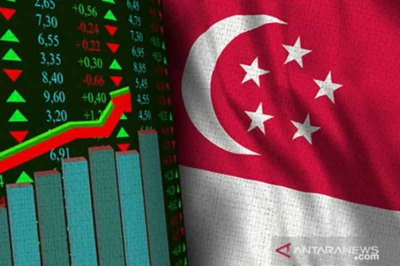 Saham Singapura sore melonjak, Indeks Straits Times naik 1,38 persen