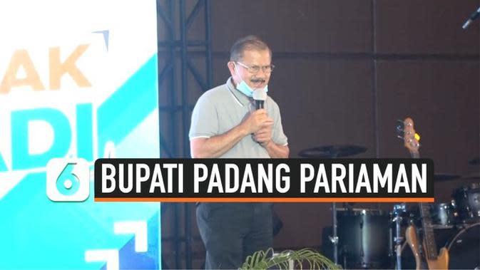 VIDEO: Bupati Padang Pariaman Positif Covid-19